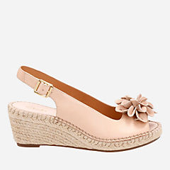 Petrina Bianca Nude Leather womens-sandals-wedge