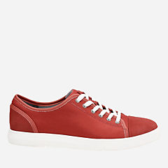 Lander Cap Red Combi mens-casual-shoes