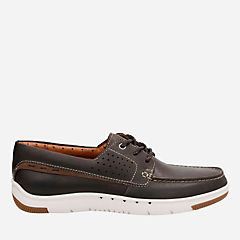 Unmaslow Edge Dark Brown Leather mens-unstructured