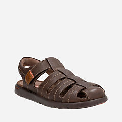 Unwilmore Bay Brown Leather mens-unstructured
