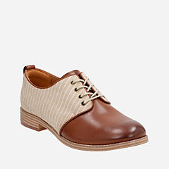 Zyris Toledo Dark Tan Leather Combi womens-casual-shoes