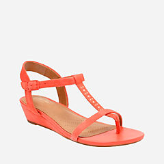 Parram Blanc Coral Suede womens-sandals-wedge