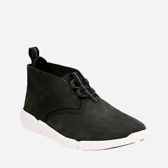 Triflow Mid Black Nubuck mens-ortholite