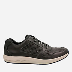 Sirtis Mix Black Leather mens-casual-shoes