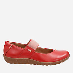 Medora Elie Red Leather womens-collection