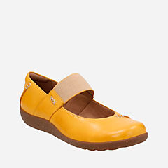 Medora Elie Yellow Leather womens-collection