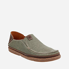 Trapell Form Olive Canvas mens-casual-shoes