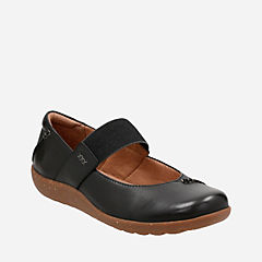 Medora Elie Black Leather womens-collection