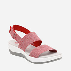 Arla Jacory Red/White womens-sandals-sport
