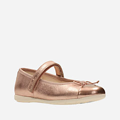 Dance Mad Toddler Rose Gold Leather girls-toddler