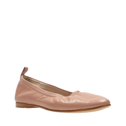 Grace Mia Dusty Pink Leather womens-flats