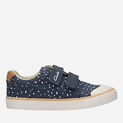 Comic Cool Toddler Navy Canvas girls-sneakers