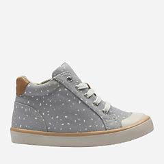 Comic Whizz Toddler Grey Canvas girls-toddler