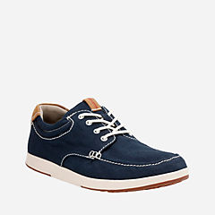 Norwin Vibe Navy Textile mens-casual-shoes