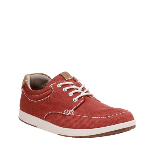 Norwin Vibe Red Textile mens-casual-shoes