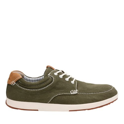 Norwin Vibe Olive Textile mens-casual-shoes