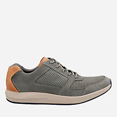 Sirtis Mix Grey Nubuck mens-casual-shoes