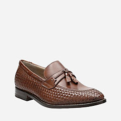 Twinley Free Tan Weave mens-loafer-slip-on