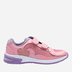 Piper Chat Toddler Pink Sparkle girls-sneakers