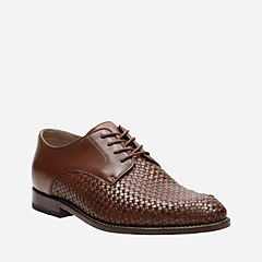 Twinley Lace Tan Weave mens-oxfords-lace-ups