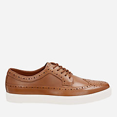 Calderon Limit Tan Leather mens-oxfords-lace-ups