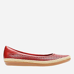 Danelly Adira Red Leather womens-collection