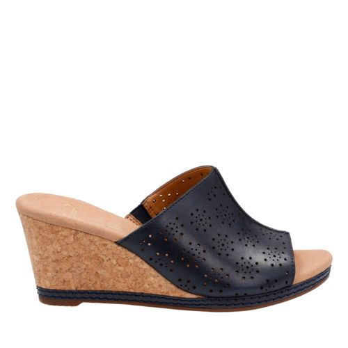 Helio Corridor Navy Leather womens-collection