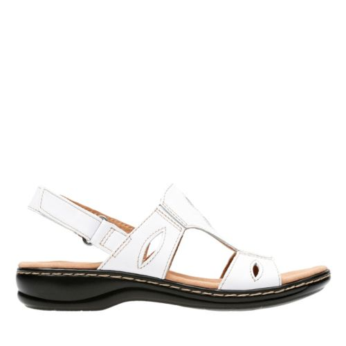 Leisa Lakelyn White Leather womens-wide-width
