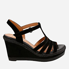 Zia Reign Black Suede womens-collection