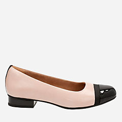 Keesha Rosa Dusty Pink Leather womens-flats