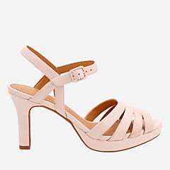 Mayra Poppy Dusty Pink Leather womens-sandals-heels