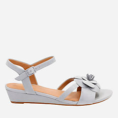 Parram Stella Grey Blue Nubuck womens-sandals-wedge