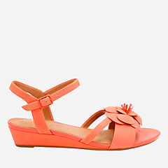 Parram Stella Coral Nubuck womens-sandals-wedge