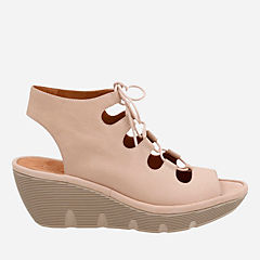 Clarene Grace Sand Nubuck womens-sandals-wedge