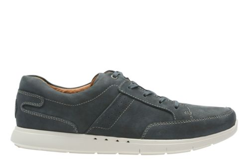 Unlomac Lace Navy Nubuck mens-unstructured