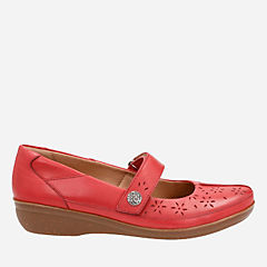 Everlay Bai Red Leather womens-collection