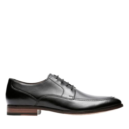 Ensboro Pace Black Leather mens-oxfords-lace-ups