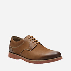 Pariden Plain Tan Nubuck with Brick OS mens-ortholite
