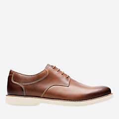 Pariden Plain Tan Leather with Taupe OS mens-dress-casual-shoes