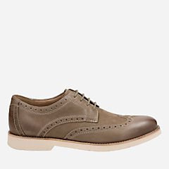 Pariden Wing Olive Nubuck with Taupe OS mens-dress-casual-shoes