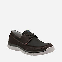 Marus Edge Black Textile mens-boat-shoes