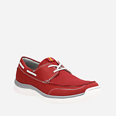 Marus Edge Red mens-boat-shoes