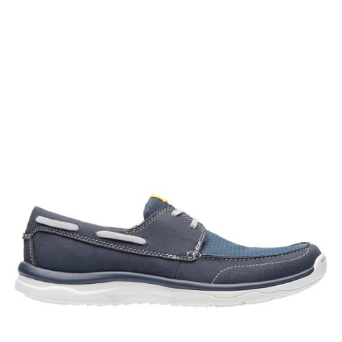 Marus Edge Navy mens-boat-shoes