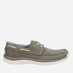 Marus Edge Olive mens-boat-shoes