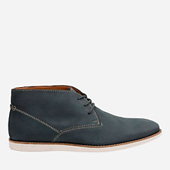 Franson Top Navy Nubuck mens-ortholite