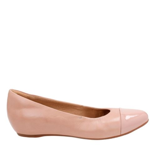 Alitay Susan Nude Pink Leather womens-flats