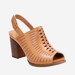 Briatta Key Light Tan Leather womens-heels