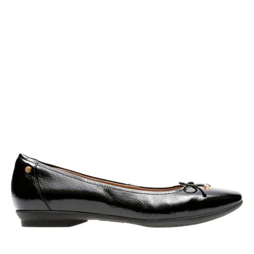 Candra Light Black Patent womens-flats