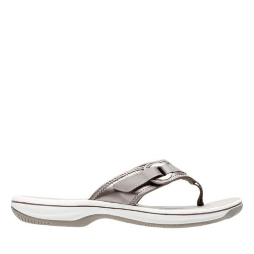 Breeze Mila Pewter Synthetic womens-flip-flops-sandals