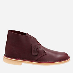 Desert Boot Burgundy Tumbled Leather mens-desert-boots